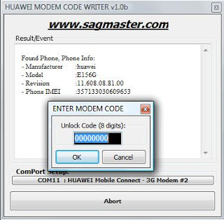 Huawei modem unlocker software
