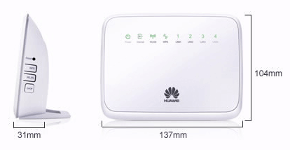 Huawei WS325 Gateway Dimension