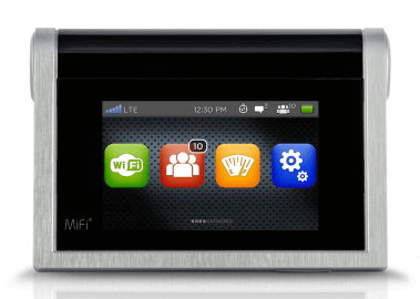 Novatel MiFi 2 Global 4G LTE Touchscreen Mobile Hotspot