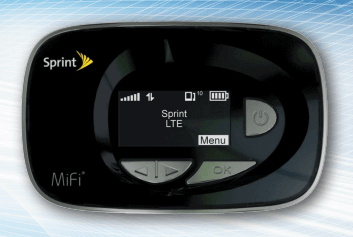 Novatel Wireless Sprint MiFi 500 LTE Router