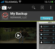 Oppo N1 My Backup app at Play Store