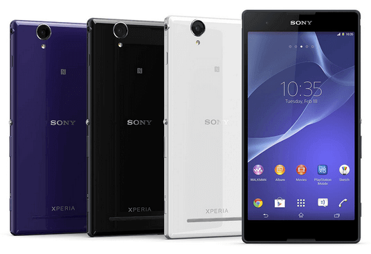 Sony Xperia T2 Ultra SmartPhone whole look