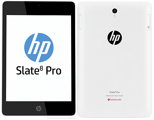 HP Slate 8 Pro 8-Inches Tablet in France