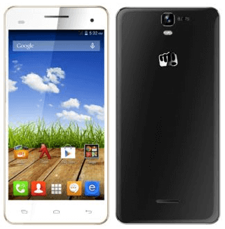 Micromax Canvas HD Plus A190 Android Smartphone in India