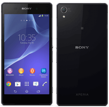 Sony Xperia Z2 Official in US with Snapdragon 800 Quad-core