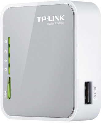 TP-LINK TL-MR3020 Portable 3G 3.75G 4G Wireless N Router