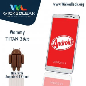 Wickedleak Wammy Titan 3 Octa Core 5.7-Inches HD Octa Core KitKat Phablet