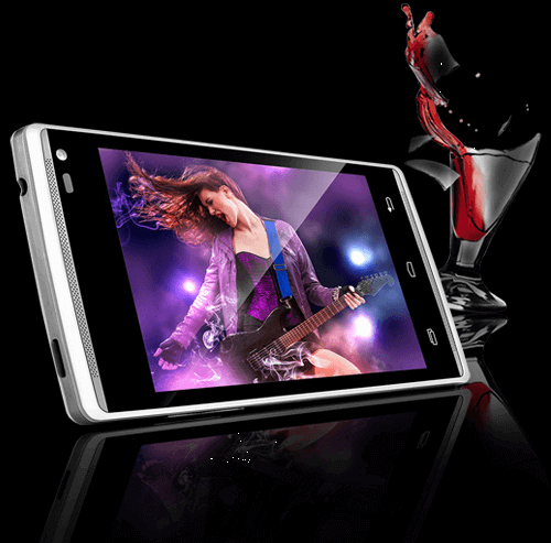 Xolo A500 Club Android Smartphone with Dual Front Speaker