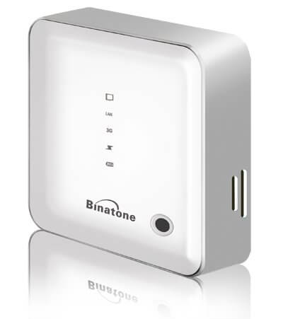 Binatone 3G WiFi MiFi Router with Power Bank