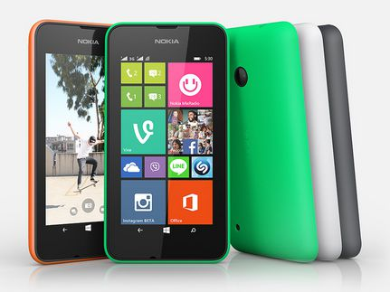 NOKIA LUMIA 530 DUAL SIM in India