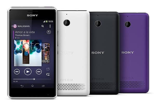 Sony' Xperia E1 and Xperia E1 Dual