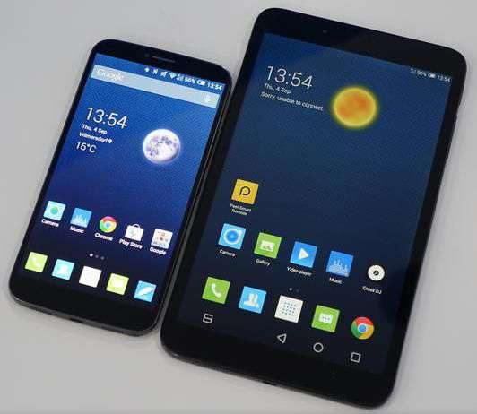 Alcatel One Touch Hero 8 tablet