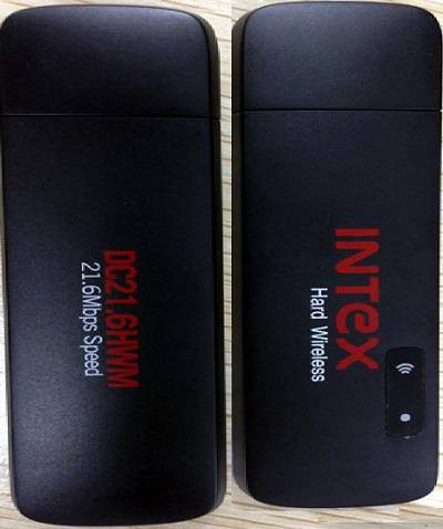 Intex WiFi Data-Cards with Adapter