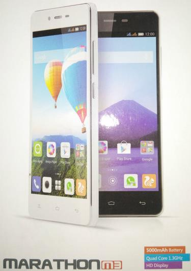 Gionee Marathon M3 in India