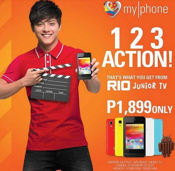 MyPhone Rio Junior TV