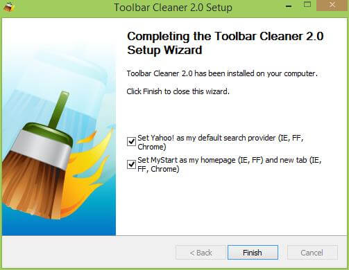 Toolbar Cleaner 2.0 Installation
