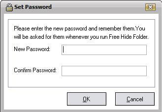 Free Hide Folder - Password option