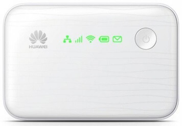 Huawei E5370 3G Pocket Router with Power Bank