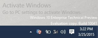 Windows 10 - Activate Windows