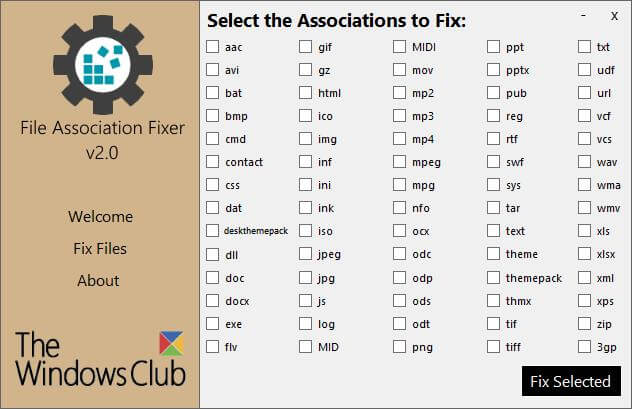 File Association Fixer v2
