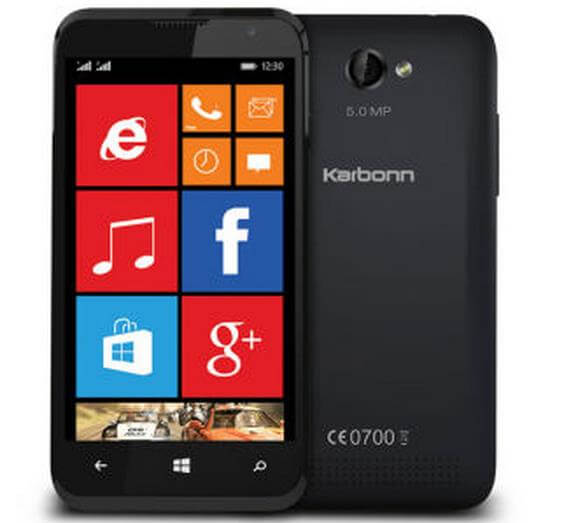 Karbonn Titanium Wind W4 - offer