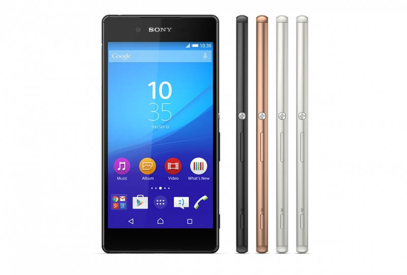 Sony Xperia Z3+ in UK