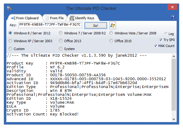 The Ultimate PID Checker