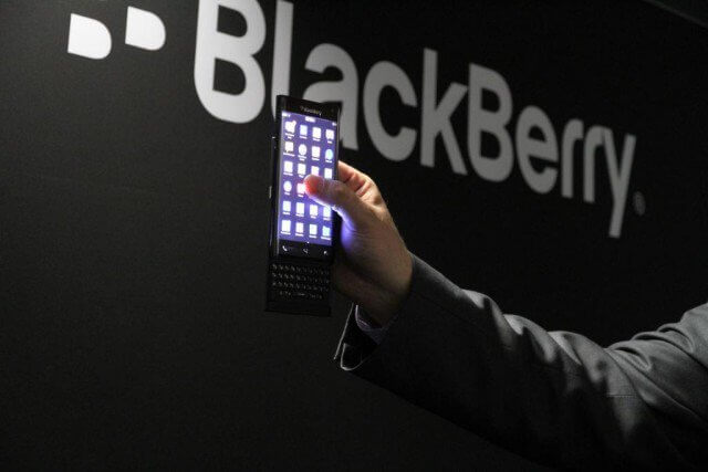 BlackBerry Prague