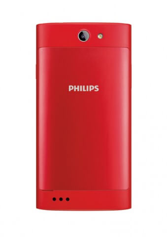 Philips S309 - Rear