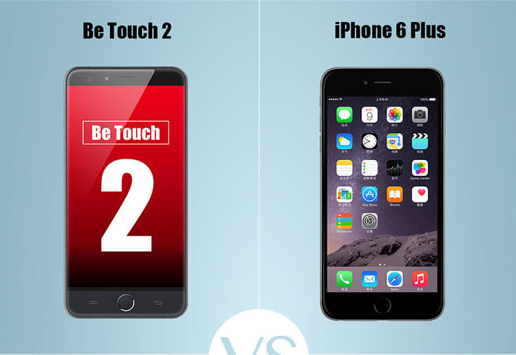 Ulefone Be Touch 2 with iPhone 6