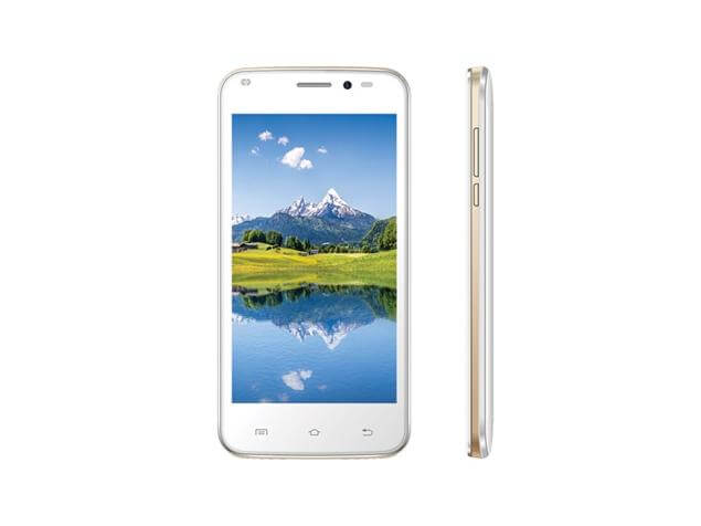 Intex Aqua Q1 Plus - front