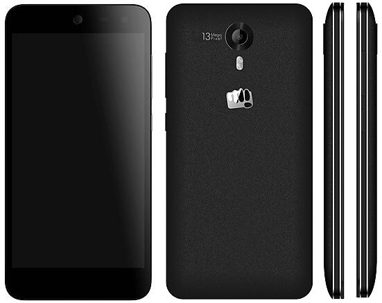 Micromax Canvas Nitro 3 E455 - all sides