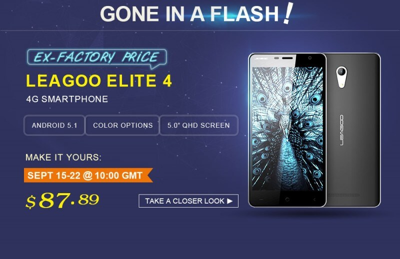 Leagoo Elite 4