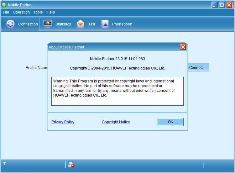Download Huawei Mobile Partner 23 015 11 01 983 Free for Mac
