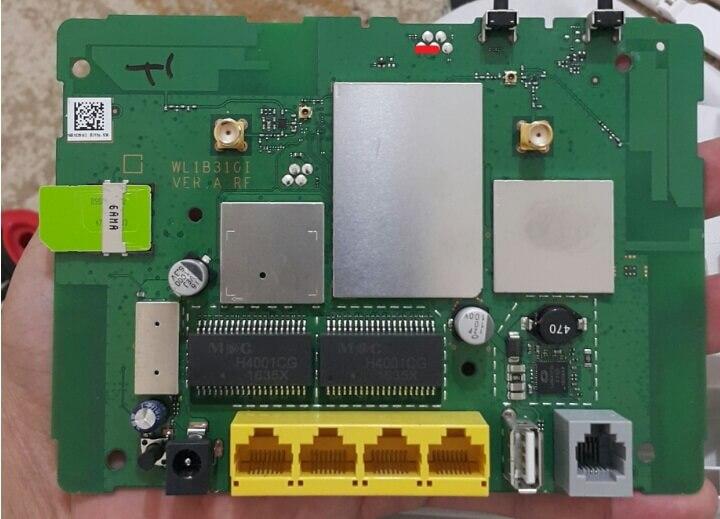 Huawei B315 Boot