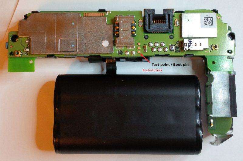 Huawei E5885 Boot Pin