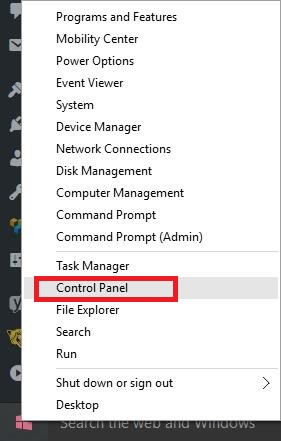 Control-Panel-from-start