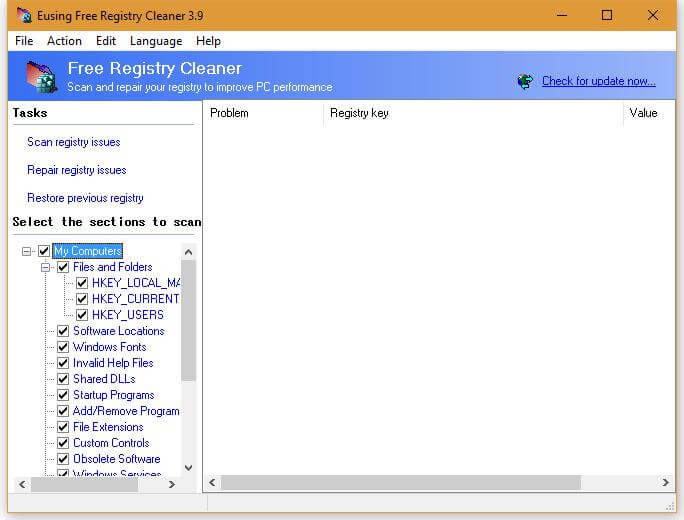 Eusing-Free-Registry-Cleaner