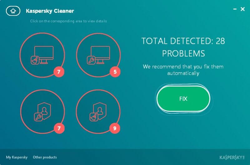 scanning-of-problems-in-kaspersky-cleaner