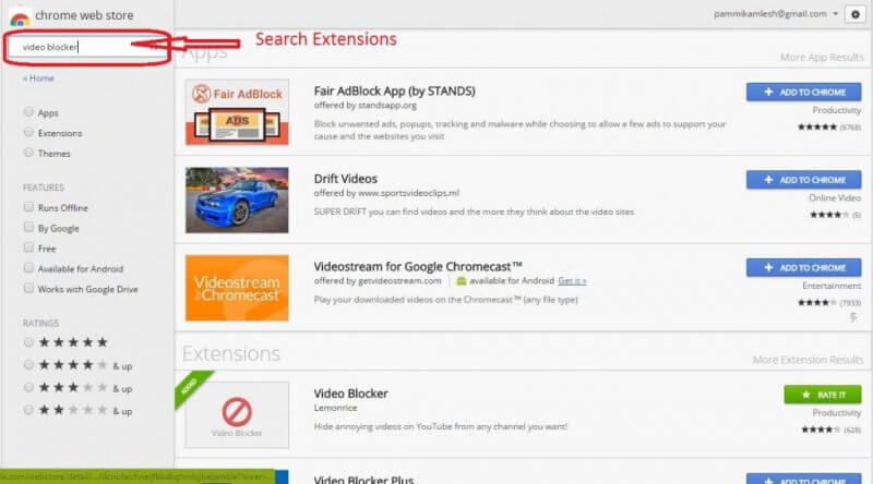 search-extensions