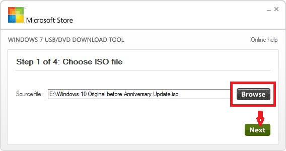 select-iso-file