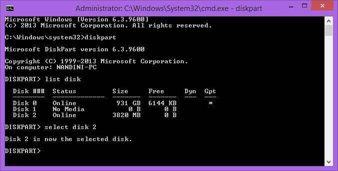 select-the-usb-disk-in-diskpart