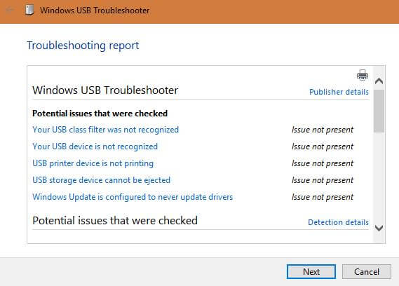 troubleshooting-report