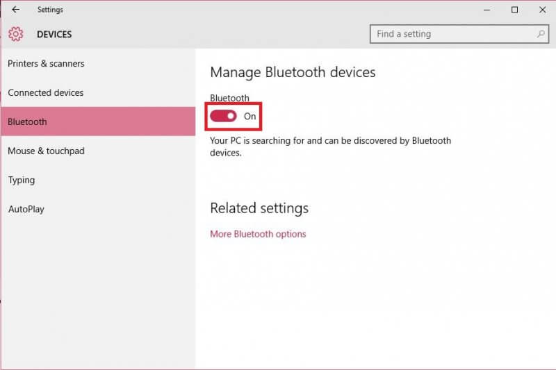 turning-on-or-off-bluetooth