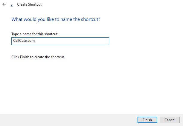 type-a-name-for-shortcut