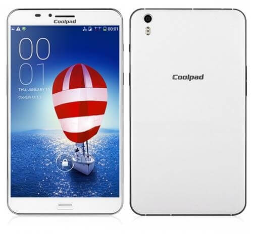 Coolpad Halo with Ultra Large OGS HD Display