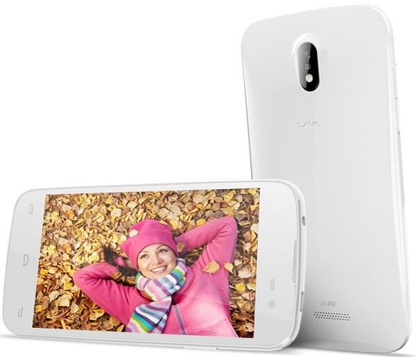 Lava Iris 450 Colour Smartphone in India